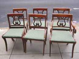 furniture duncan phyfe rose back chairs duncan phyfe chairs for