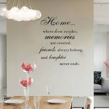 online get cheap wall stickers family quotes aliexpress com large diy home love resides family quotes wall stickers for living room bedroom vinyl decoration poster