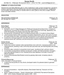College Freshman Resume Examples by College Student Sample Resume Sample Resumes
