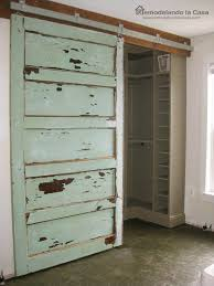 How To Make A Sliding Barn Door by Remodelando La Casa How To Install A Sliding Barn Door Part 2