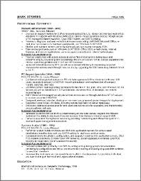 Chronological Resumes  Resume Samples  amp  free resume examples