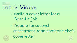 writing a cover letter for a specific job university of