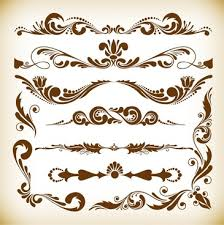 vintage ornaments labels free vector 20 126 free vector