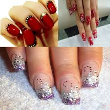 unique nail design for new year 2014