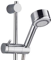 mira silver ev exposed valve thermostatic mixer shower chrome