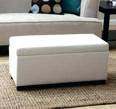 White Storage Ottoman Storage Ottoman For Bedroom Cryptofor Me