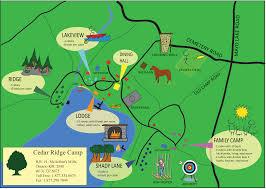 Double Map Camp Map Cedar Ridge