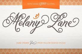 melany lane fonts script fonts creative market