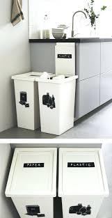 kitchen bin ideas white kitchen bin ebay waste sorting bins moute