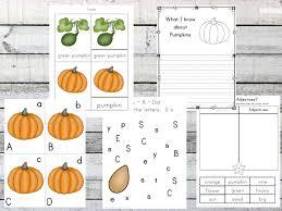 free pumpkin life cycle worksheets prek 3rd