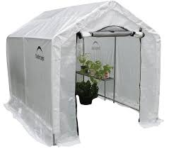 Backyard Green House by Amazon Com Shelterlogic 70600 Peak Style Backyard Greenhouse
