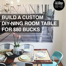 Design Your Own Kitchen Table Build Your Own Dining Room Rebel Table Etms