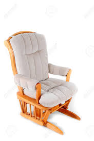 padded rocking chair stock photo picture and royalty free image
