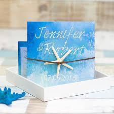 summer wedding invitations starfish folded summer wedding invitation ewri029 as low as