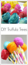 vibrant dr seuss craft diy truffula trees