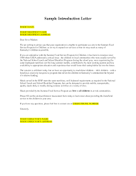 Example Business Letterhead by Bunch Ideas Of Example Business Introduction Letter On Summary