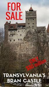 transylvania u0027s bran castle got a spare 80 million