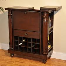 wine cabinets for home williamsburg spirit bar cabinet rustic mahogany bar and wine