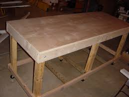Woodworking Bench Top Surface by Furniture U0026 Accessories Wood Materials Of Workbench Top Design