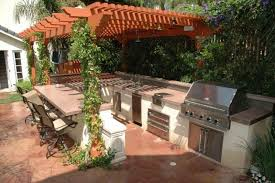 ideas incredible small outdoor kitchen kits design simple outdoor