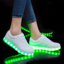 light up sole shoes led glowing luminous sneakers usb charging kids light up led