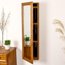 decorating astonishing design of wall mount jewelry armoire for