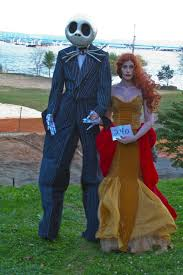 best costumes best and sally from nightmare before christmas photo