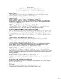 view basic resume sles awesome collection of sle resume for food service worker your