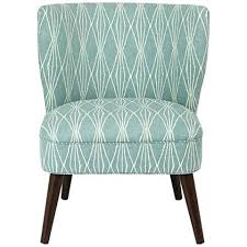 armless accent chair slipcover armless accent chair slipcover accent chairs blue print chair