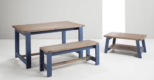 bala coffee table solid wood and blue made com