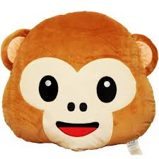Couch Emoji by Amazon Com Evz 32cm Emoji Smiley Emoticon Brown Round Cushion