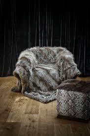 fur throws for sofas faux fur throws collection la savane de mayfair mille