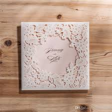 cheap wedding invitations online wholesale laser cut wedding invitations cheap hollow flower