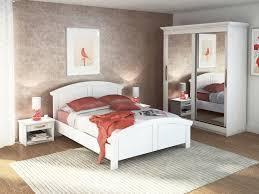 chambre bois blanc cuisine lit moderne lit arrondi kamilia volga meubles mi chambre à