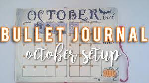 halloween journal halloween october setup bullet journal sam granger youtube