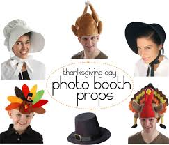 thanksgiving photo booth photo booth props