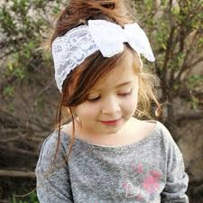 hair accessories for kids baby girl hairband lace voile bow fashion hair accessories