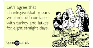 thanksgiving hanukkah yom kippur fasting ecard