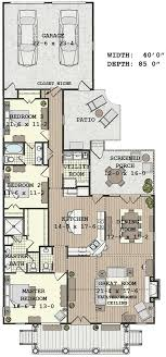 narrow lot homes 12 best floor plans for narrow lots images on house