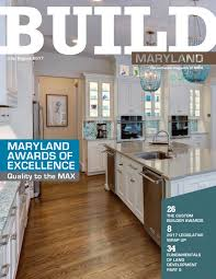 build magazine july august 2017 by maryland building industry