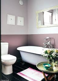 ideas for painting bathroom walls two tone paint bathroom walls best burnt orange bathrooms ideas on