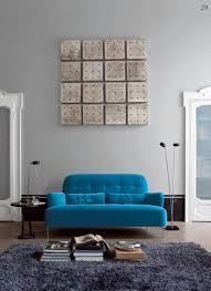 blue sofa living room design u2013 home decoration