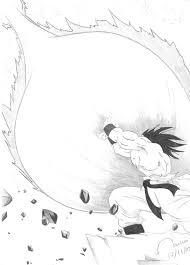 dragon ball z coloring pages goku kamehameha