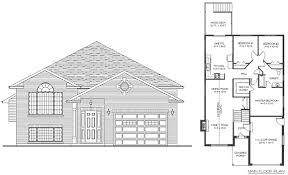 raised bungalow house plans 2 bedroom raised bungalow house plans home plans ideas