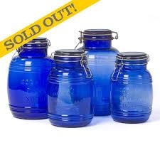cobalt blue kitchen canisters 235 best cobalt blue glassware and blue depression glasswear