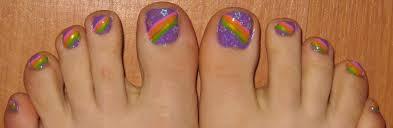 toenail design furry fury nail art
