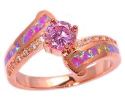 rings topaz images Fire opal pink topaz ring atperrys jpg