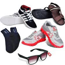 Footwear Buy Ultimate Footwear Combo Free Foldable Sunglasses Online At