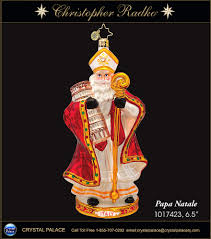 christopher radko papa natale ornament