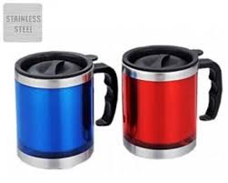 Travel Coffee Mugs Online by Online 5 Stainless Steel Coffee Mug In Color Delivery At Low Price